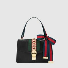 Gucci | Sylvie | Leather bag | Black