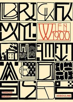 Personal monograms of various designers from the Vienna Secession, 1902…