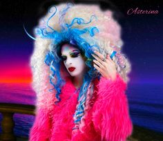 Style: Ginza Nightfall Lunar Dream Makeup, hair & photography by me #makeup #ryanjasterina #beautiful  #amazing #fashion #asterina #アステライナ #化粧 #メイクアップアーティスト #モデル