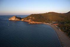Le Rocchette Beach at Castiglione della Pescaia, #Maremma, #Tuscany, #Italy