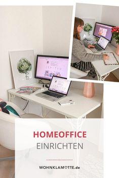 Viele von uns arbeiten im Homeoffice. Ob im Esszimmer, der Küche, klassisch am Schreibtisch oder auf dem Balkon; hier findest Du jede Menge Inspiration, um Dein Homeoffice einzurichten.
