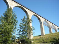 Le viaduc du Pont Marteau sur l'A 89 à Sainte Colombe sur Gand