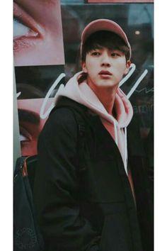 Jin wearing pink is my aesthetic