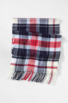 Women's CashTouch Plaid Scarf - Think of this scarf as the next best thing to wearing authentic cashmere. Its microsueded fabric really is that soft.
