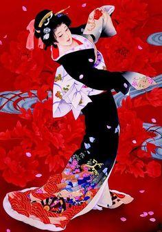 """diverso-blog: """" Estas pinturas de la artista japonesa Haruyo Morita me han dejado impresionada. Me parecen exquisitas. El colorido y el movimiento son de una delicadeza impresionante. Según he podido..."""