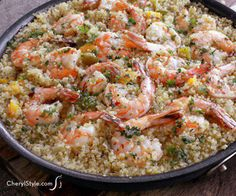 This Garlic Butter Shrimp And Quinoa Recipe Is A Tasty One-pot Wonder!