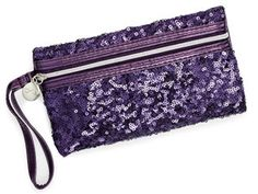 The babysitter will swoon over this glittering sequined coin purse (Avon, $5). Even better: $3.03 from each purchase goes to the Speak Out Against Domestic Violence program. #giftideas