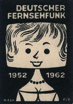 Blockhead. Vintage Matchbook Cover. So many more at the link.