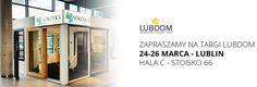 W ten weekend zapraszamy do Lublina na targi LUBDOM! :) Znajdziecie nas od piątku do niedzieli w hali C, na stoisku numer 66.   #Sokółka #OknaDrewniane #Lubdom #Lublin #Targi