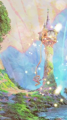 Also one of my favourites! Tangled concept