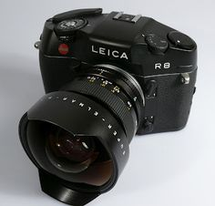 Leica R8 with Super Wide Angle lens