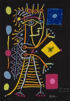 "Picasso ""Jacqueline"", lithograph"