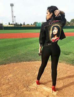 Erica Mena paying  tribute  to Selena                                                                                                                                                                                 More