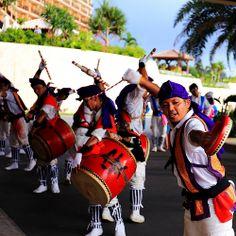 Eisa (Okinawan folk dance that marks the end of the Bon festival)- Yoshihiro Ogawa