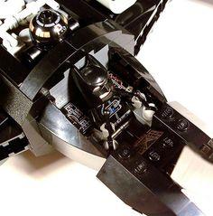 Batman X-wing LEGO #egeeks