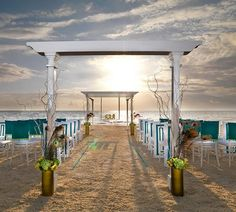 Ever After Destination Weddings- Beach Front Ceremony in Mexico