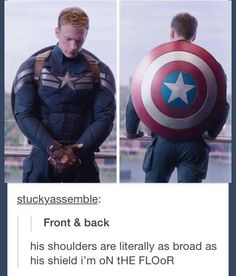 Damn! Cap be lookin' good