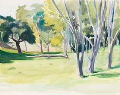 Edward Hopper - Landscape with Trees