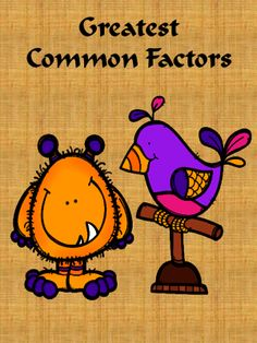 Greatest Common Factor from Insight Learning Mathematics on TeachersNotebook.com -  (4 pages)  - Greatest Common Factor