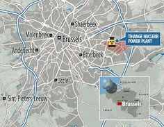 Officials quickly cancelled the security pass of a security guard from the Thiange plant, pictured, after he was shot dead and had his pass stolen in Charleroi two days after the Brussels attacks.