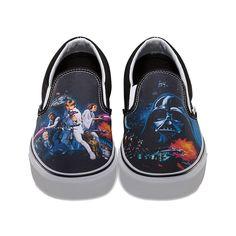 Summer Shoes for the Star Wars Skate Set  StarWars  DarthVader  Vans A New ea73a0d25