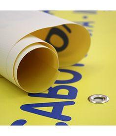 Il telo stampato per uno stendardo, uno striscione ad alta resistenza. www.rananet.it