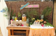 Cool Hawaiian Luau Party.  See more party ideas at CatchMyParty.com #hawaiianpartyideas