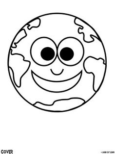 planet earth coloring page...for my multicultural week