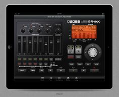 BOSS Digital Recorder BR-800 iPad App