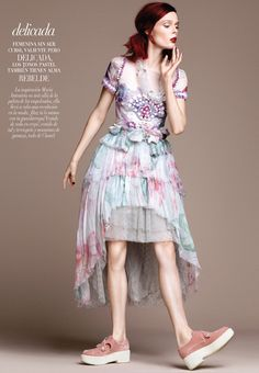 Coco Rocha by David Roemer for Vogue Mexico