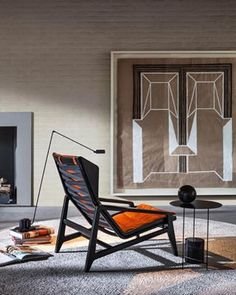 For the Salone 2017 and the Milan Design Week, Molteni & C relaunches the easy chair by Gio Ponti. Italian Furniture, Luxury Furniture, Cool Furniture, Modern Furniture, Furniture Design, Showroom Interior Design, Top Interior Designers, Interior Design Companies, Gio Ponti