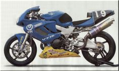 Honda's pre RC51/SP-2 developed, initially by Moriwaki with and later masterminded by, HRC- Firestorm in UK and Superhawk (I think) in the USA.