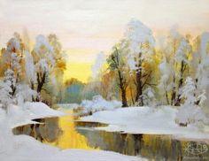 Антонов Николай. 'Первый снег'