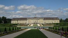 Ludwigsburg castle. a beautiful example of Rococo style