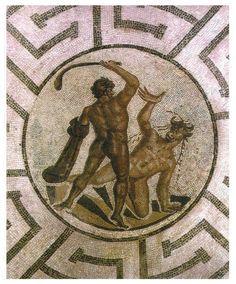Minotaurus is een figuur uit de Griekse mythologie. Het is een schepsel met de kop en de staart...