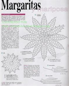Horgolás minden mennyiségben!!!: Horgolt virág minták