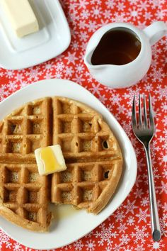Gingerbread Waffles / Cinnamon, clove, nutmeg and molasses lift ...