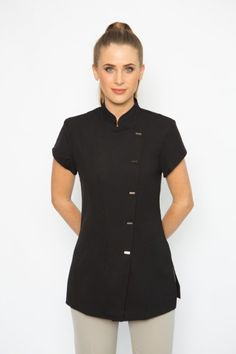 Spring Spa Wear has been one of the leading designers of beauty salon uniforms in Australia. Buy tunics for beauty uniforms, spa uniforms, hairdressing and beauty therapy professionals. Salon Uniform, Spa Uniform, Hotel Uniform, Staff Uniforms, Work Uniforms, Massage, Beauty Uniforms, Scrubs Outfit, Medical Scrubs