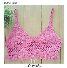 Top Caracol - Crochet - Tejidos de Punto - 797070