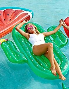 Luxe float cactus sunnylife australia pool party pinterest - Toys r us swimming pools for kids ...