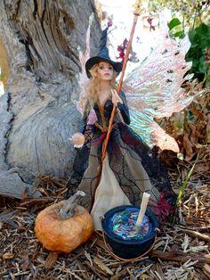 Witch OOAK Hiddleston Fairy