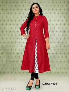 Checkout this latest Kurtis Product Name: *Women's Solid Cotton Kurti* Fabric: Cotton Sleeve Length: Three-Quarter Sleeves Pattern: Solid Combo of: Single Sizes: M (Bust Size: 38 in, Size Length: 46 in)  L (Bust Size: 40 in, Size Length: 46 in)  XL (Bust Size: 42 in, Size Length: 46 in)  XXL (Bust Size: 44 in, Size Length: 46 in)  Country of Origin: India Easy Returns Available In Case Of Any Issue   Catalog Rating: ★4.2 (267)  Catalog Name: Women Cotton Jacket Kurta Solid Yellow Kurti CatalogID_1993110 C74-SC1001 Code: 573-10816642-039