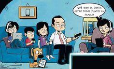 #post de hoy. NO dejes que la tecnología rompa la comunicación en tu hogar. http://jesicaperez.net