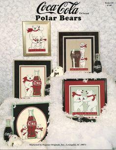 Coca Cola Polar Bears booklet