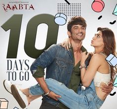 Raabta is an Indian Romance, Comedy, Drama and Mystery hindi movie. It's featuring bollywood stars Sushant Singh Rajput, Kriti Sanon and Jim Sarbh. Best Couple Pictures, Bff Pictures, Cute Photos, Indian Bollywood Actress, Bollywood Actress Hot Photos, Bollywood Stars, Bollywood News, Varun Dhawan Instagram, Bollywood Movie Trailer