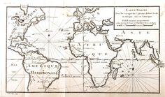 Geopolitical - Map - Carte marine Asie et Amerique