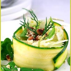 Arugula, Zucchini and Fennel Salad
