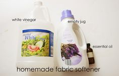 homemade fabric softner