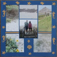 Photo Collage created by Deborah, Lea France Designer, using Diamond Stencil.  See more at    http://leafrance.3dcartstores.com/ #PhotoCollage #Layouts  #Art   #Scrapbook   #Crafts   #DIY   #LeaFrancePhotoCollage
