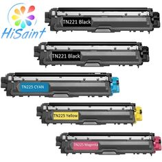 137.23$  Buy here - http://ai1x7.worlditems.win/all/product.php?id=32407530581 - [Hot Products] TN221 TN225 Color Toner Set For Brother Laser Hisaint Hl-3170cdw Hl-3140cw